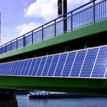 Kennedy Bridge Germany Solar Panel